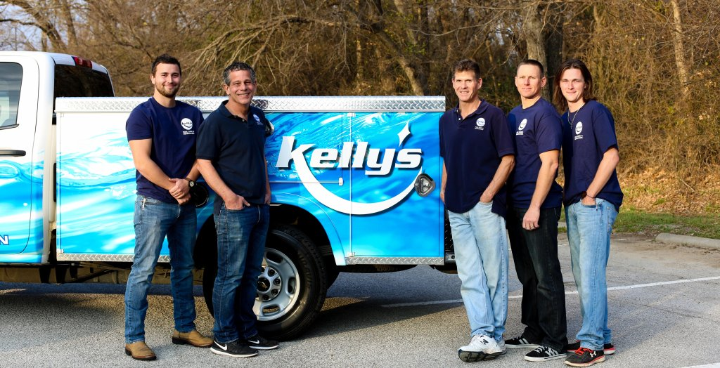The Kelly's Pool Care & Renovations Team