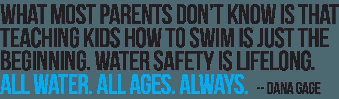 Teaching Kids to Swim Is Just the Beginning