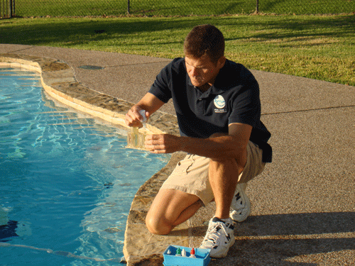 Checking Pool Chemicals
